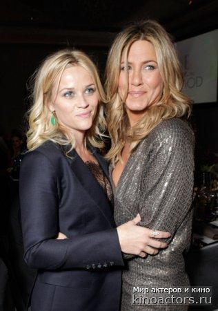 На вручении премии журнала Elle «Женщины Голливуда» Дженнифер Энистон покорила всех своим нарядом